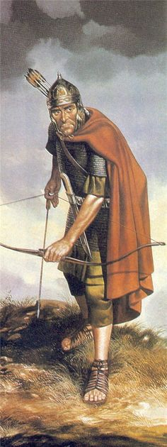 Roman Auxiliary Archer, 2nd century CE.