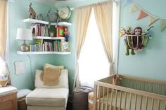 Nursery Painted in Pastels Is Surprisingly Perfect for a Baby Boy | The Stir