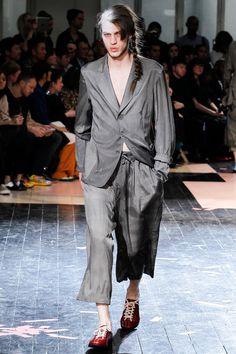 @YohjiYamamoto Men's Spring 2014 Runway Fashion #paris #fashion
