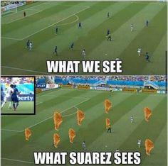 Luis Suárez y los mejores memes de su sanción que le deja sin Mundial Brasil 2014