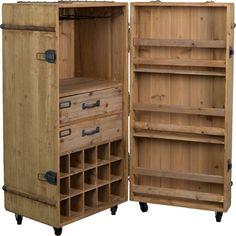 Mini Bars, Wood Wall Shelf, Wall Shelves, Tall Cabinet Storage, Locker Storage, Led Spots, Modern Contemporary Homes, Eclectic Furniture, Luxury Flooring