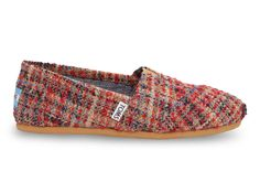 Red Boucle Women's Classics