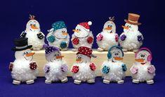 New Shop, Petra, Maker, Christmas Ornaments, Holiday Decor, Advent, Kindergarten, Products, Pom Poms