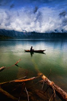"DO WINNER: ""Western Shore, Lake Maninjau, Sumatra, Indonesia"" by Flash Parker #travel #Indonesia"
