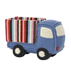 Crochet Toys For Boys Discover the Anne-Claire Petit Crochet Truck at Amara - Crochet Car, Kawaii Crochet, Crochet For Boys, Crochet Gifts, Cute Crochet, Crochet Dolls, Boy Crochet Patterns, Crochet Basket Pattern, Easy Crochet Projects