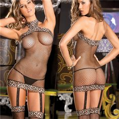 Leopard Halter Fishnet Dress  $22.95 or have almost all the single items for 50% OFF + Free Shipping + DVDS and Attractive GIFT when you use the code PINIT @ checkout at www.AdamAndEve.com