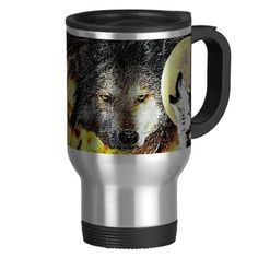WOLF.png Coffee Mug  £17.50 THESE DESIGNS COME IN MANY DIFFERENT STYLES PRODUCTS & COLORS OF APPAREL ALSO