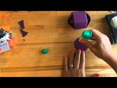 Pink Buckaroo Designs: Fancy Friday Blog Hop- Happy Hauntings Hexagon Treat Boxes (Video)