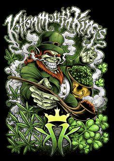 Stunning Horror Art by Brandon Heart - Arte Dope, Dope Art, Los Muertos Tattoo, Weed Wallpaper, Cannabis Edibles, Medical Marijuana, Muster Tattoos, Psychedelic Art, Street Art