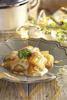 Recetas de Navidad: sorprende a tus invitados en la cena de Navidad Gordon Ramsay, Canapes, Camembert Cheese, Potato Salad, Food And Drink, Dinner Recipes, Ethnic Recipes, Easy, Recipes