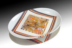 Vanilla Combed Platter