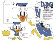 donald duck papercraft - ค้นหาด้วย Google