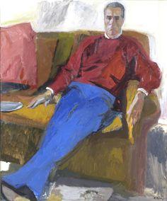 Portrait of A.K, 1998 Panayiotis Tetsis Classical Period, Classical Art, Greek Paintings, Hellenistic Period, Minoan, Post Impressionism, Greek Art, 10 Picture, Art Database