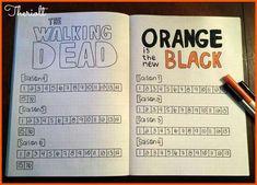 TV SERIE trackers, Walking dead & Orange is the New black