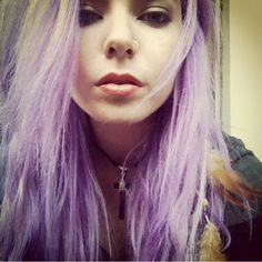 Madeline Rae Mason purple hair