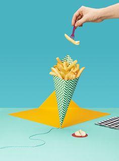 Snacks in Amsterdam - ADAC Reisemagazin on Behance