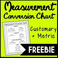 Measurement Conversion Chart FREE Customary and Metric Printable Measurement Conversion Chart, Measurement Conversions, Math Measurement, Weight Conversion, 4th Grade Math, Third Grade, Weight Charts, Math Assessment, Homeschool Math
