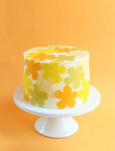 Decorating Desserts with Soy Paper