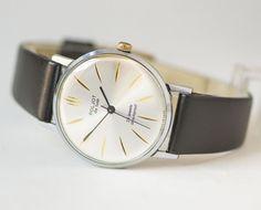 Mint condition men's watch Poljot de luxe  unique mens by 4Rooms