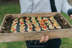 Canapes Goose & Berry Catering Weddings & Events