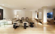 Apartamento Itaim / SALA 2 Arquitetura e Design @Sala2arqui #living #lighting #decor