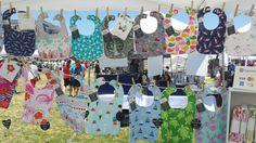 Bibs at Giant Craft Show, Ocean Grove, NJ