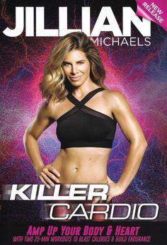 Jillian Michaels fitness training DVDs.  Picture: eBay affiliate link.