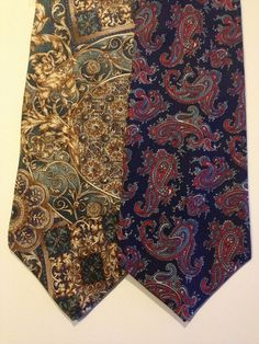 #EtienneAigner and Italian Hand Made Mens Silk Ties $0.99