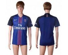 Paris Saint-Germain Blank Home Soccer Club Jersey