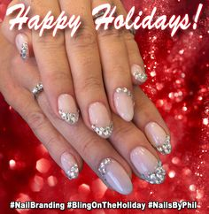 Dec 2014 - Bling On the Holidays!  #‎BrandImmersion‬ ‪#‎NailBranding‬ ‪#‎VOPeeps ‪#‎NailedIt‬ ‪#‎PhilipROCKS‬ #IbizaNails See vopeeps.com for more information!