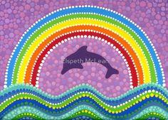 «Dolphin rainbow energy» de Elspeth McLean