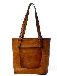 Sandast - Sol Leather Bag (Khaki) | VAULT