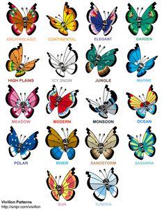 Vivillon Patterns - Imgur