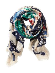 iwearthat FALLING4FALL  Old Navy | Women's Printed Square Scarf