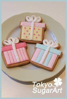 Best Sugar Cookies, Baby Cookies, Xmas Cookies, Cute Cookies, Royal Icing Cookies, Birthday Cookies, Iced Biscuits, Cookie Gifts, Cookie Decorating