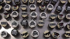 Fashion & skulls cupcakes |Pinned from PinTo for iPad|
