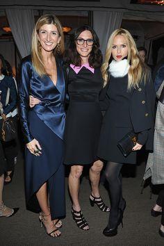 C Social Front. NET-A-PORTER Celebrates Hollywood Style -- Sarah Rutson, Elizabeth Stewart & Rachel Zoe