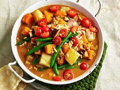 "[Pumpkin and eggplant massaman curry recipe.](http://www.foodtolove.com.au/recipes/pumpkin-and-eggplant-massaman-curry-32046|target=""_blank"")"