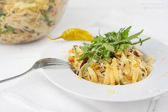 Sallys Blog - Toms Pasta – vegane, mediterrane Bratkartoffel-Nudelpfanne