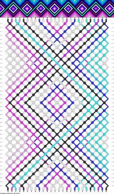 26 strings, 42 rows, 11 colors