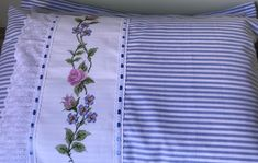 Irene, Bed Sheets, Bed Pillows, Pillow Cases, Applique, Sewing, Embroidered Pillows, Crib Quilts, Embroidered Pillowcases