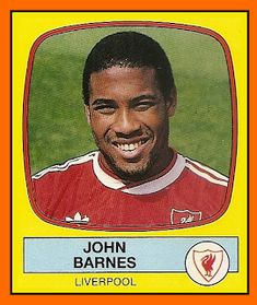 Old School Panini: John Barnes (1988) #LFC