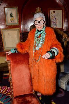 Iris Apfel Documentary British Premiere and Dinner At Annabels (Vogue.co.uk)