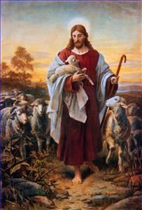 Thomas Kinkade Jesus..Mamma and Dado had this painting.