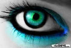 beautiful eye.. Love love love this picture great make up and color