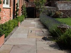 Raj Green Sandstone Patio Paving