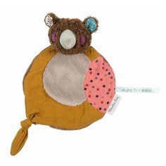 Dou Dou Oso Marrón, Moulin Roty - My Little Zoo, baby shop Hot Pink Nails, Dou Dou, Baby Lovey, French Fabric, Le Jolie, Beautiful Gifts, Pink Polka Dots, Friend Wedding, Brown Bear