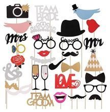 FENGRISE Mr Mrs Just Married Funny Photo Booth Props Bride Groom Sparkling Wedding Decoration Bridal Shower Event Party Supplies(China (Mainland)) Mr Mrs, Funny Photo Booth, Wedding Photo Booth Props, Paper Wedding Decorations, Wedding Paper, Birthday Decorations, Christmas Decorations, Beach Theme Garden, Decor Photobooth
