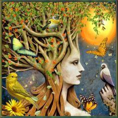 AstroSpirit :: Tree of Life Art :: Matteo Arfanotti