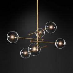 This Stylish modern design glass ball chandelier 6 heads clear glass bubble lamp is perfect for any room. Shopping the modern classic suspension lamp at Aatol, . Chandelier Design, Cheap Chandelier, Chandelier Lighting, Chandeliers, Pendant Lighting Bedroom, Bubble Lamp, Bubble Chandelier, Farmhouse Pendant Lighting, Glass